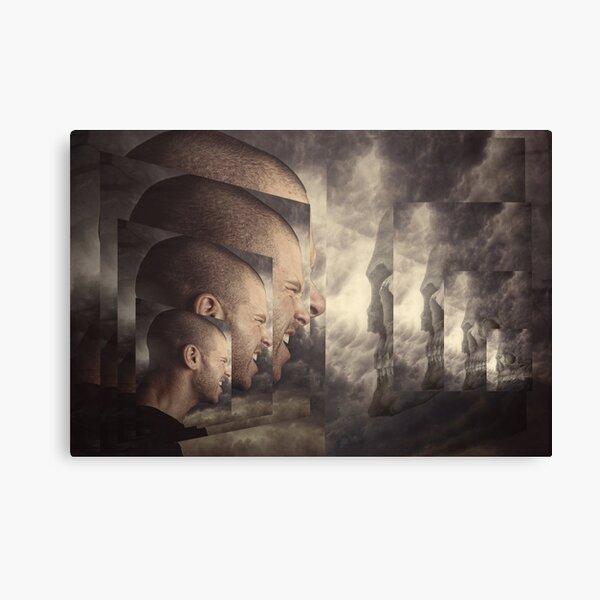 not afraid of death Canvas Print