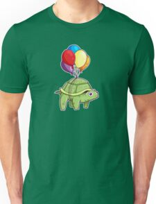 Turtle - Balloon Fun Unisex T-Shirt