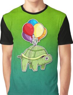 Turtle - Balloon Fun Graphic T-Shirt