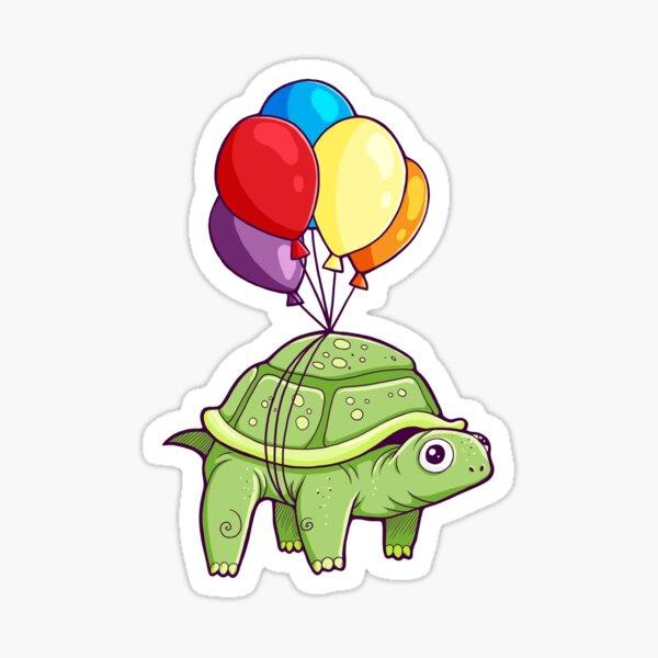 Tortue - Balloon Fun Sticker