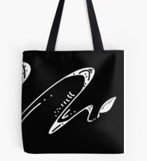 Quill-Negative Tote Bag