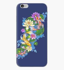 Lotus Koi Pond iPhone Case