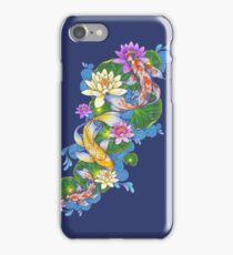 Lotus Koi Pond iPhone Case/Skin