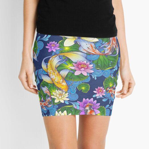 Lotus Koi Pond Mini Skirt