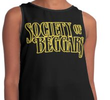 Society Of Beggars - Yellow Contrast Tank