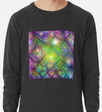 Alien skin #DeepDream Lightweight Sweatshirt