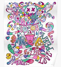 Pastel Drugs Poster