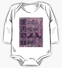 Once Upon a Time (OUAT) - Royal Purple Evil Regal Unicorn Horse Equine One Piece - Long Sleeve