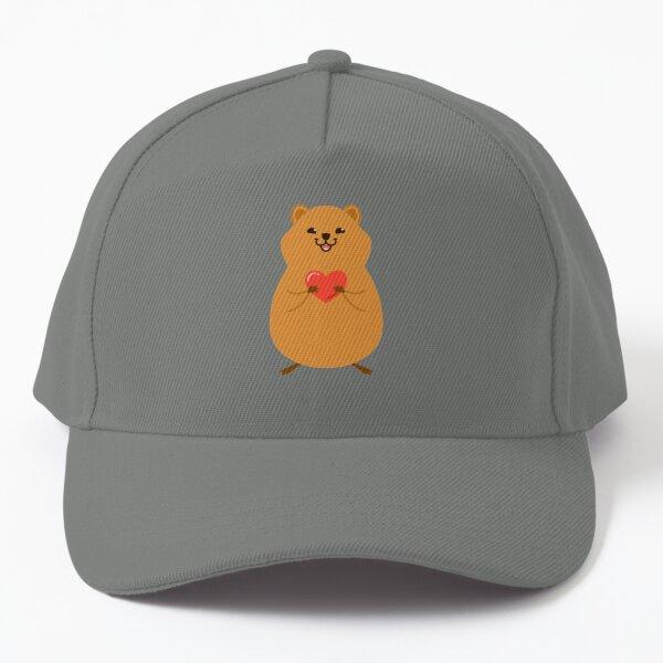 Cute Quokka with love <3 Baseball Cap