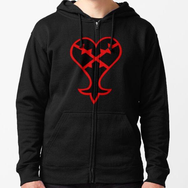 Heartless Zipped Hoodie