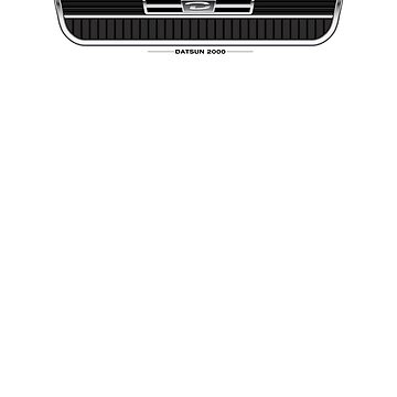Datsun 2000 Grille - light colors by shiftco