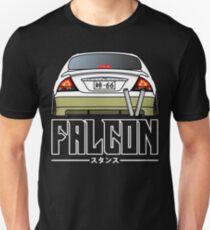AU FALCON for black T-Shirt