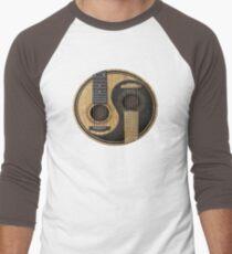 Acoustic Guitars Yin Yang Men's Baseball ¾ T-Shirt