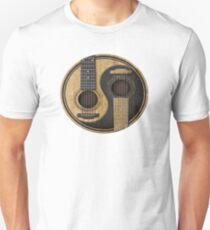 Acoustic Guitars Yin Yang Unisex T-Shirt