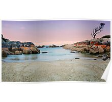 Beautiful Bay of Fires Poster