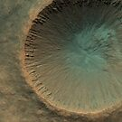 Mars Crater by flashman