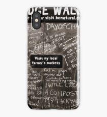 Pledge Wall iPhone Case/Skin