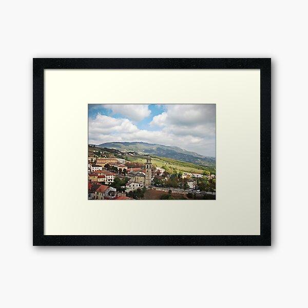 Bardi Countryside Framed Art Print