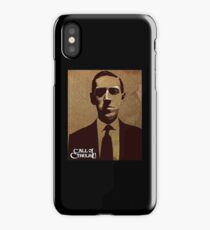HP Lovecraft - Call of Cthulhu iPhone Case/Skin