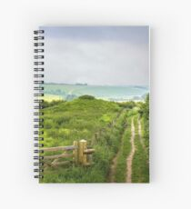 English Country Landscape 2 Spiral Notebook
