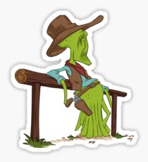 COWBOYS & ALIENS Sticker