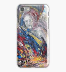 The time of weeping angels iPhone Case/Skin
