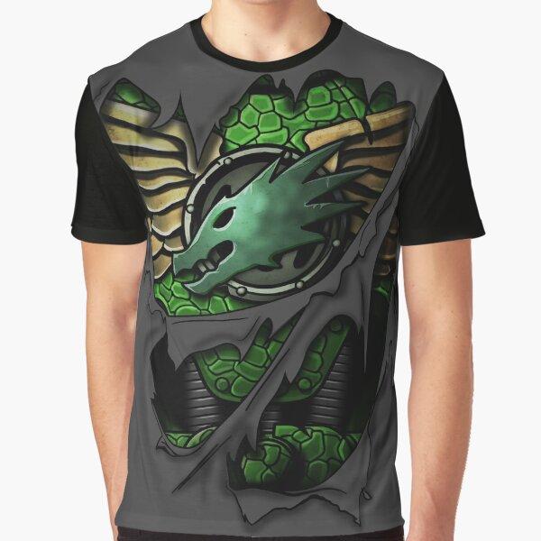 Salamanders Armor Graphic T-Shirt