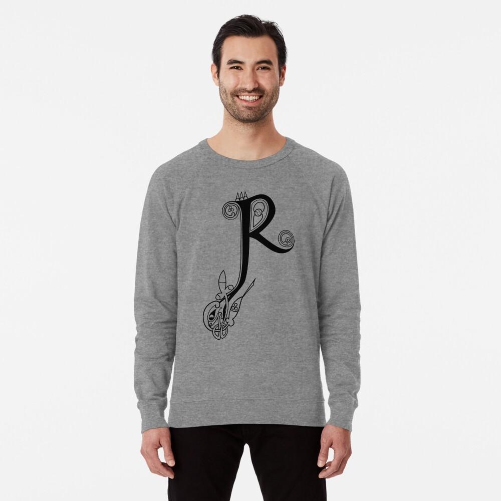 Kells Buchstabe R Leichter Pullover