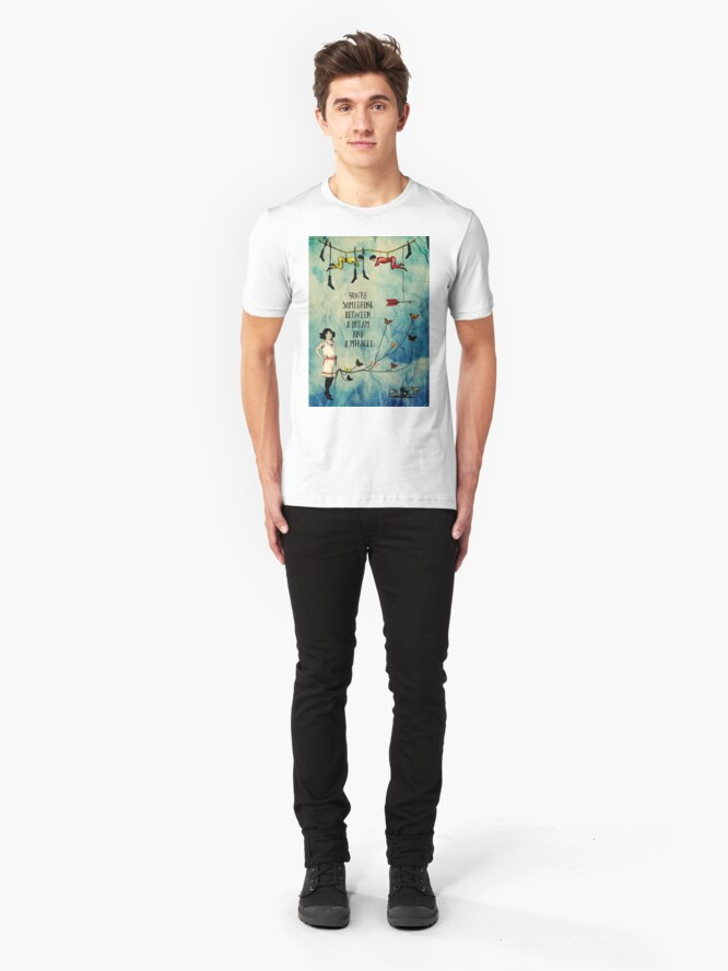 Alternate view of A Dream and A Miracle Slim Fit T-Shirt