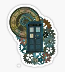 TARDIS Art Doctor Who  Sticker