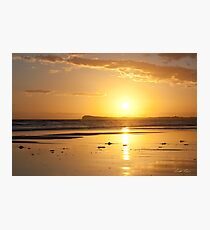 Sunset over Barwon Heads Photographic Print