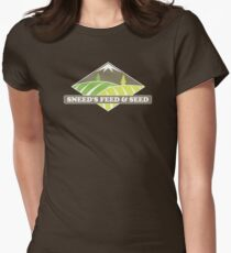 Sneed's Feed and Seed Womens Fitted T-Shirt