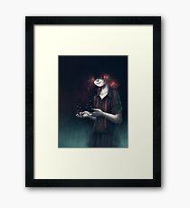 Dissolved Girl Framed Print