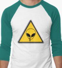 Smoking Alien Alert T-Shirt