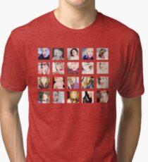 Vera Farmiga  Tri-blend T-Shirt
