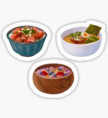 food set 1 stickers Sticker