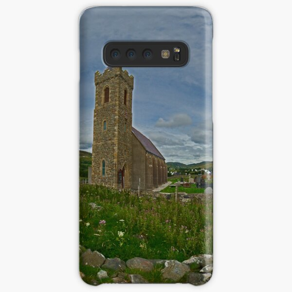 Glencolmcille Panorama with Church Samsung Galaxy Snap Case