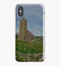 Glencolmcille Panorama with Church iPhone Case