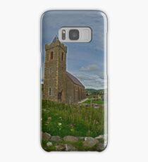Glencolmcille Panorama with Church Samsung Galaxy Case/Skin