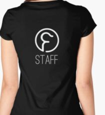 Farrier Bar Staff Women's Fitted Scoop T-Shirt