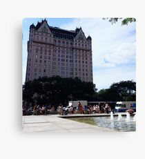 The Plaza Canvas Print