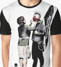 Banksy - Anarchist And Mother Graphic T-Shirt