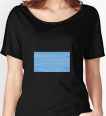 Blue? horizon / Blue? vertical Women's Relaxed Fit T-Shirt