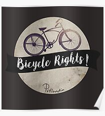 Bike Rights Poster