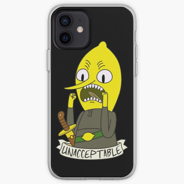 Lemongrab iPhone Soft Case