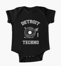 Detroit Techno One Piece - Short Sleeve