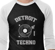 Detroit Techno Men's Baseball ¾ T-Shirt