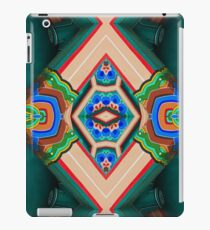 Korean Pagoda multicolored abstract iPad Case/Skin