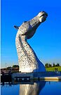 the Kelpies in Falkirk by David Rankin