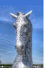the Kelpies, Helix Park by David Rankin